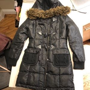 Only long down jacket